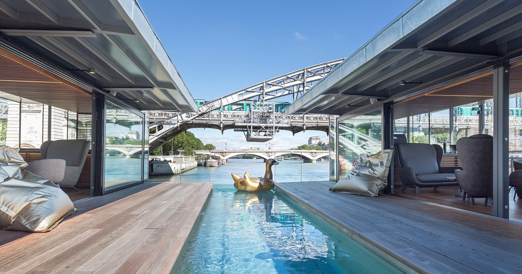 France's First Floating Hotel Is Ultimate Travel Goals