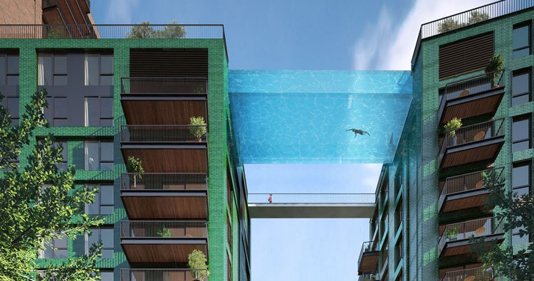 Lucky (And Rich) Londoners Get Their Own Sky-pool
