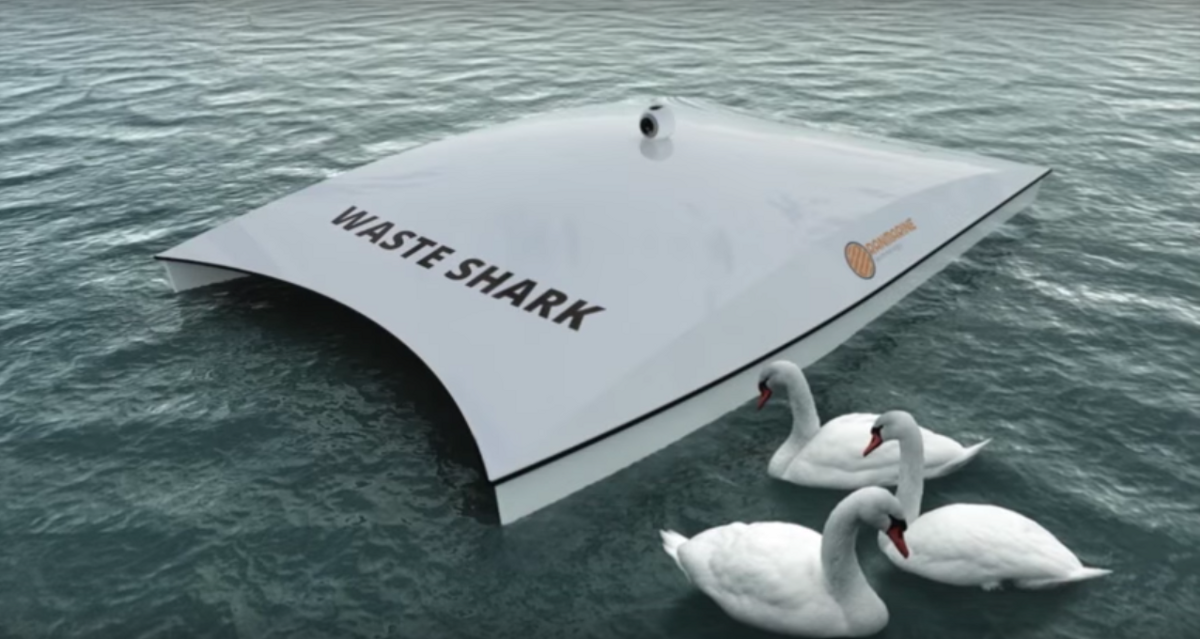 This Garbage-Eating Drone May Someday Clean Up Our Oceans