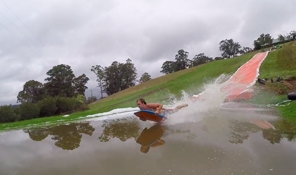 This Epic Slip'N Slide Is The Length Of A Football Field