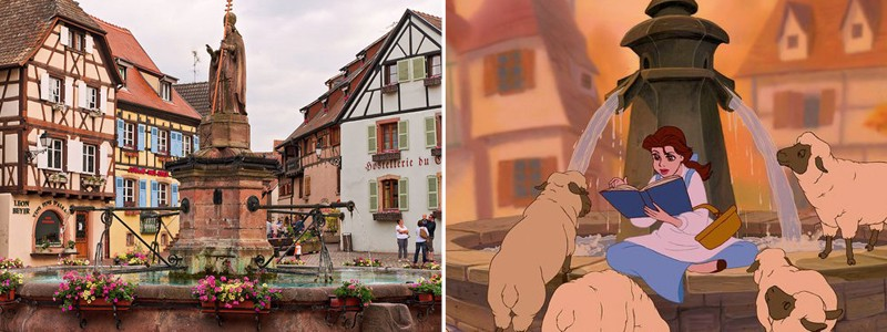 Visit The Real-Life Inspirations For Disney's Most Famous Settings
