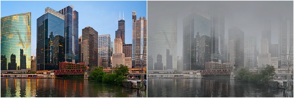 What US Cities Would Look Like If They Polluted Like China