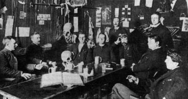 The Death-Obsessed Members Of This Secret Society Were OG Goths