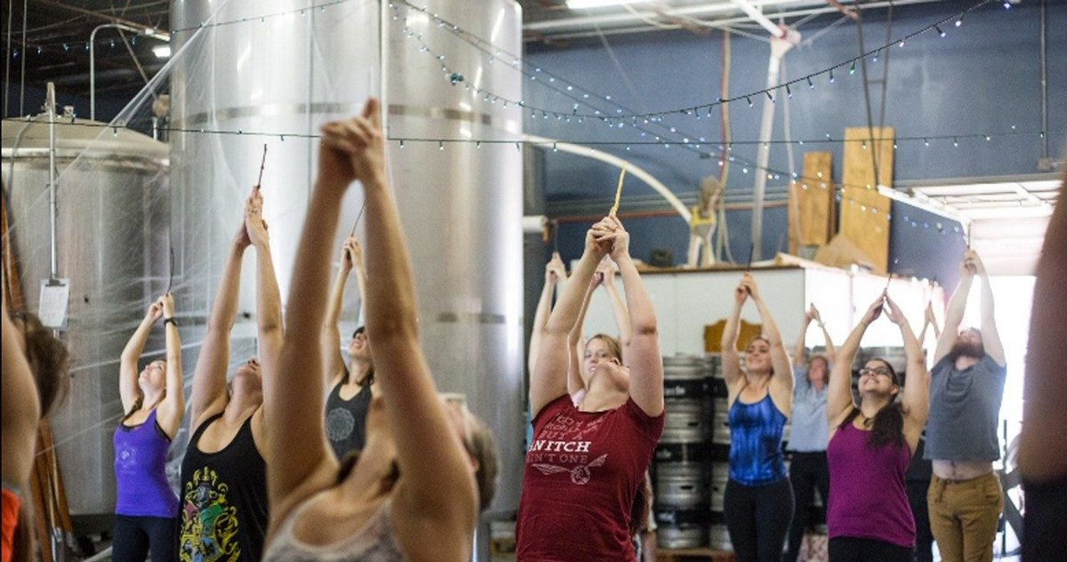 You Can Now Do Harry Potter Yoga, Wand Included