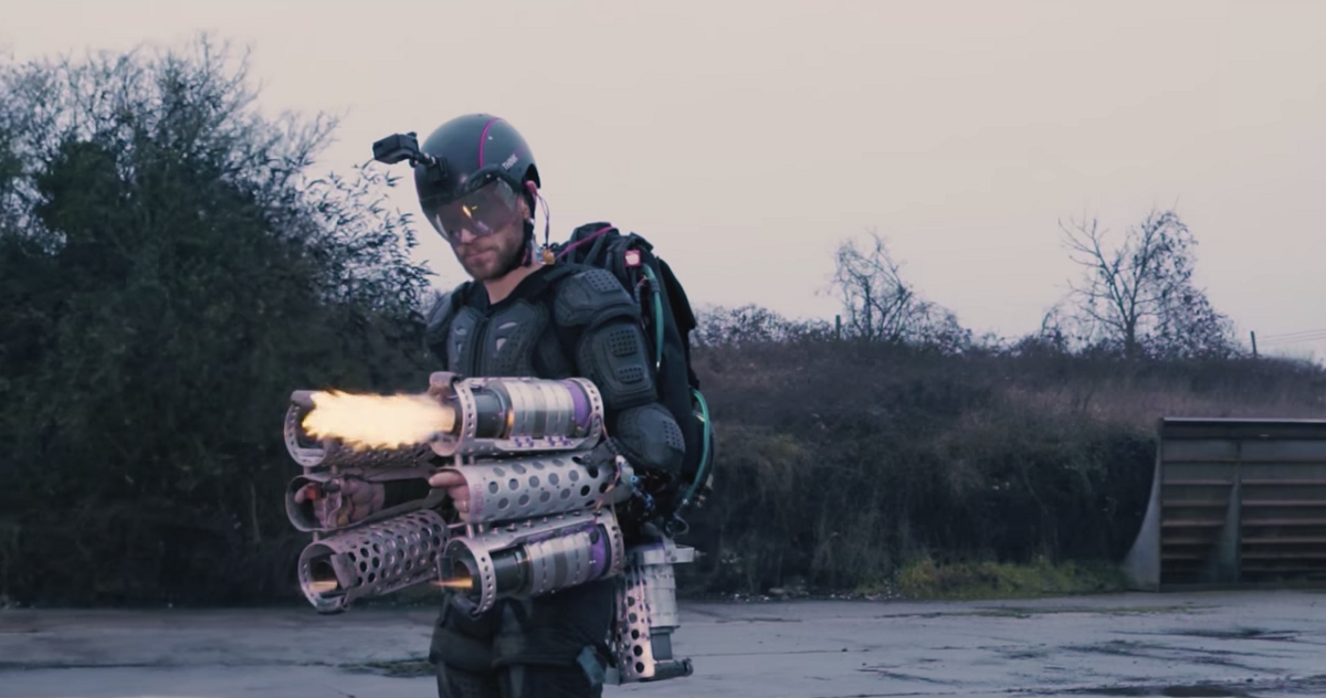 You Can Now Buy A Real-Life 'Iron Man' Suit