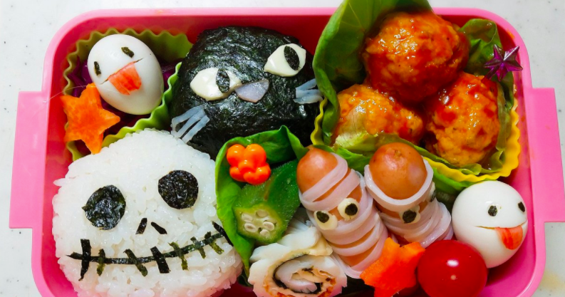 These Creepy Bento Boxes Are Perfect For Halloween
