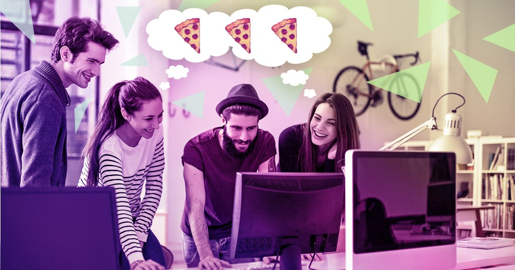 The Key To Workplace Productivity? Pizza, Of Course