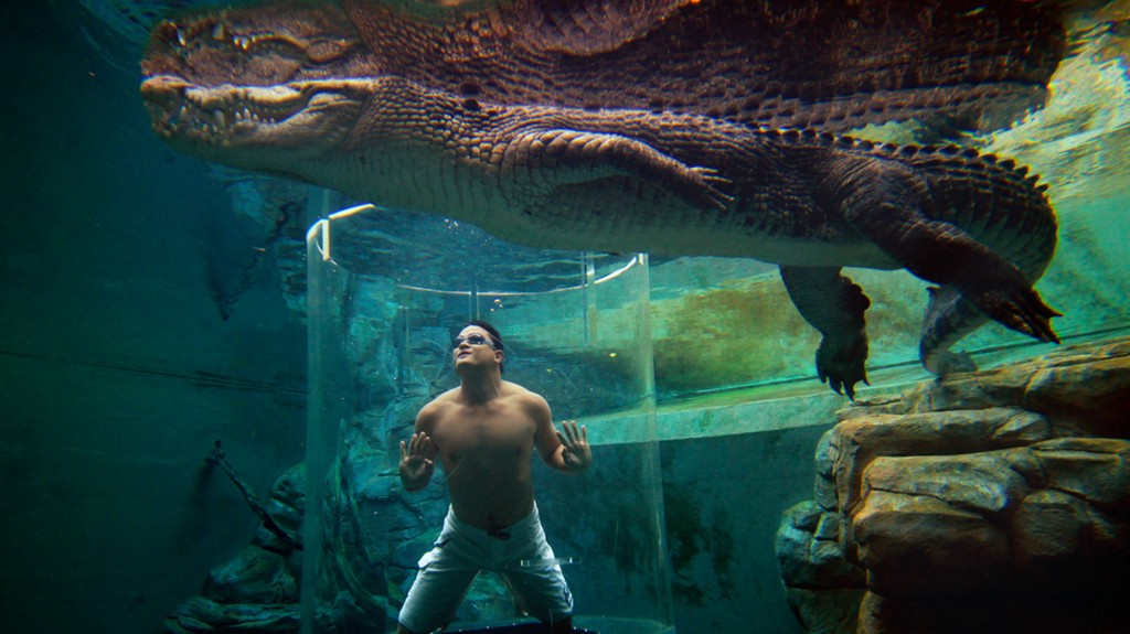 Prove You're A Badass By Submerging Yourself In The Cage Of Death