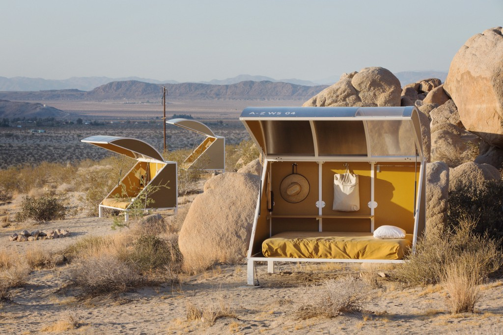 Now You Can Camp In One Of These Sci-Fi Pods At Joshua Tree