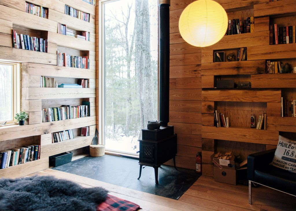 This Secluded Library Retreat Is Next-Level Dreamy