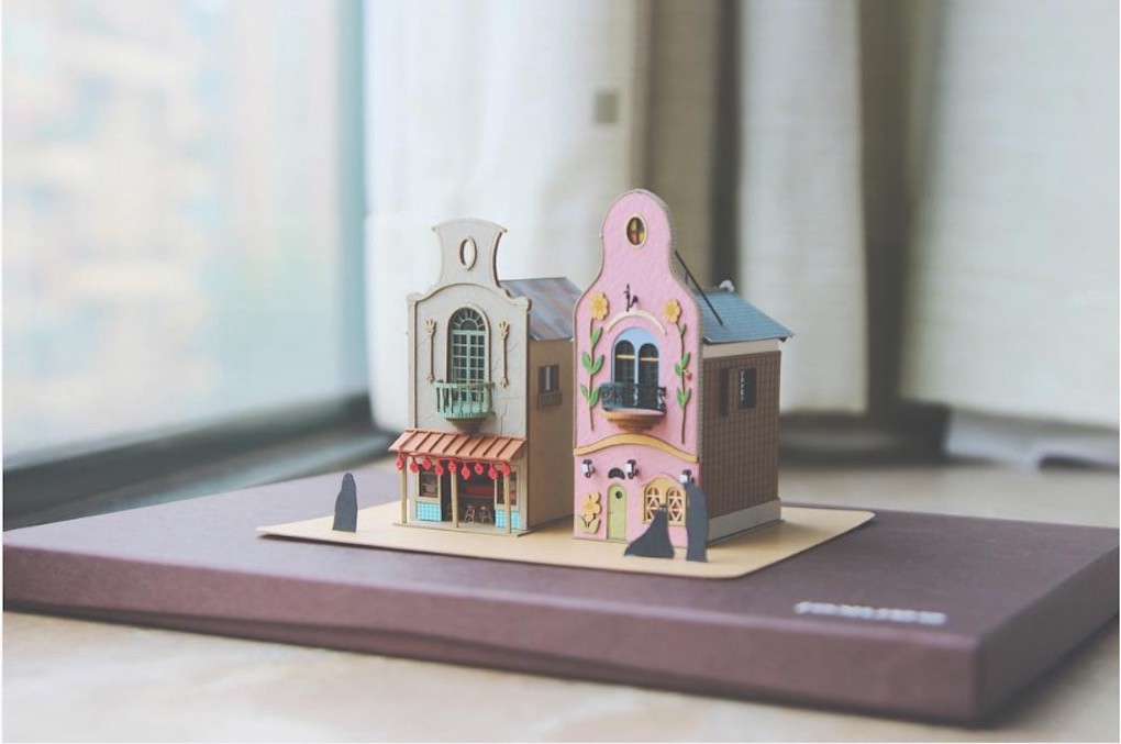 These Tiny Japanese Paper Houses Are So Damn Cute You'll Want To Smash Them