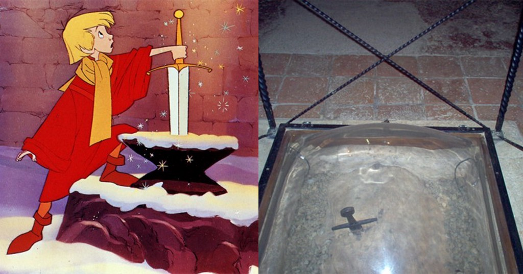 'The Sword In The Stone' Is Real — And You Can Visit It
