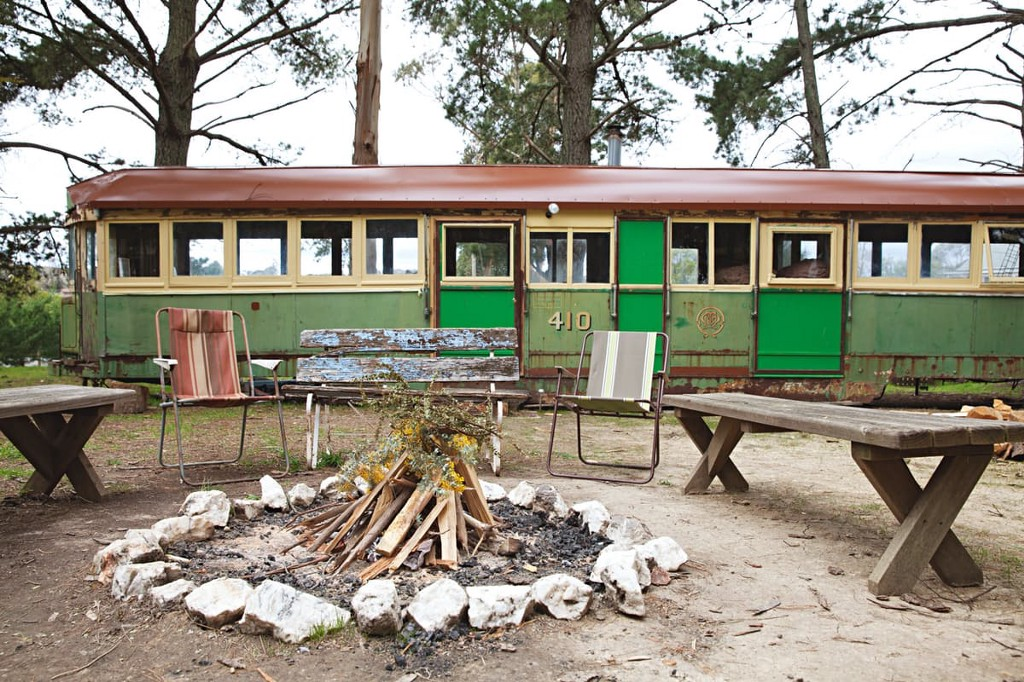 This 1920s Tram Is Hands-Down The Best Airbnb We've Ever Seen