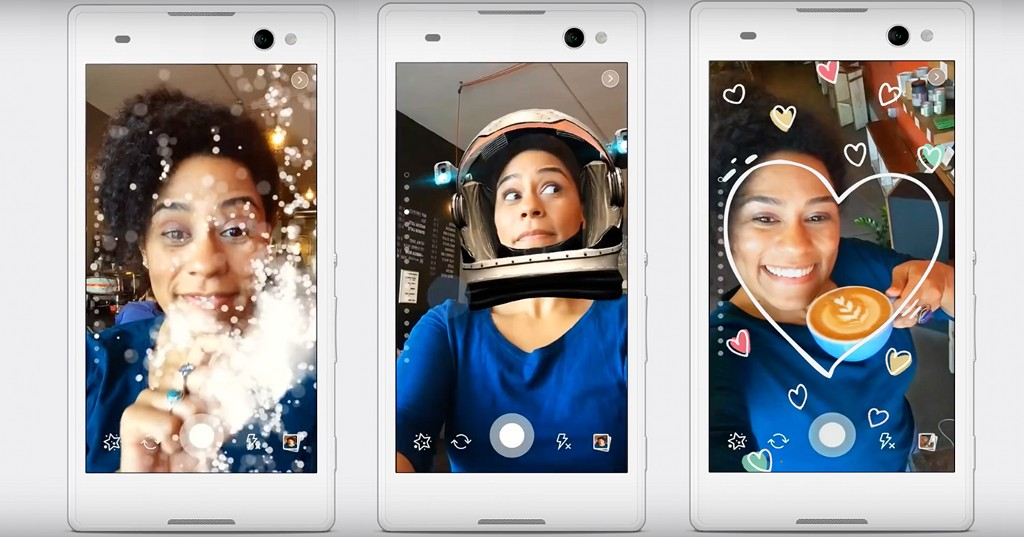 Facebook Copies Snapchat Again With Selfie Filters