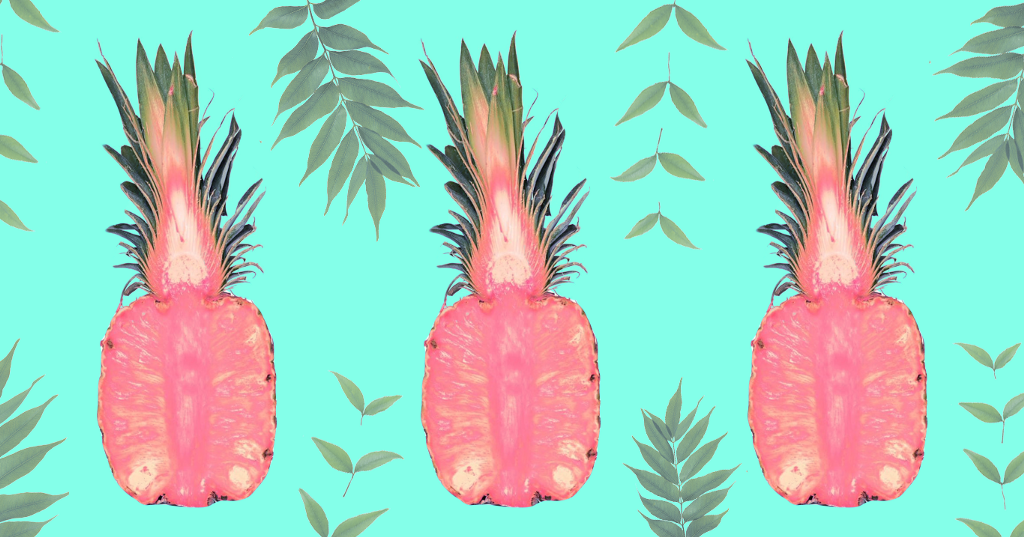 Pink Pineapples Are Real And Yes, Edible