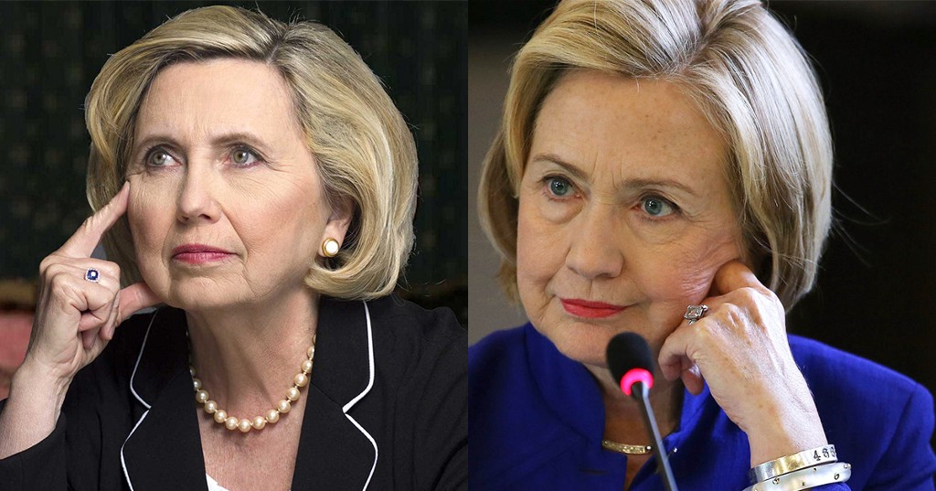 The Brainwashed HouSEWife: 🙆Hillary's Body Double🚺♿️ ... |Hillary Clintons Body