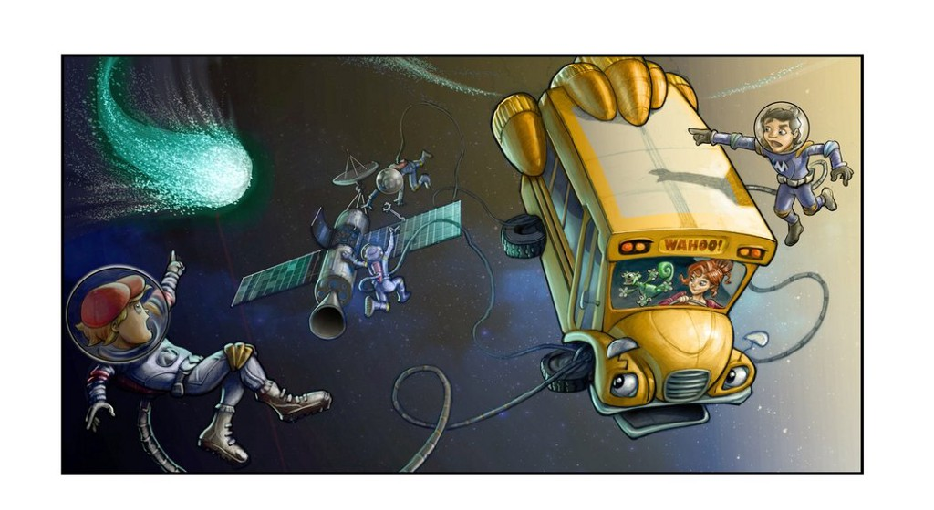 On Netflix, Magic School Bus Rides Again