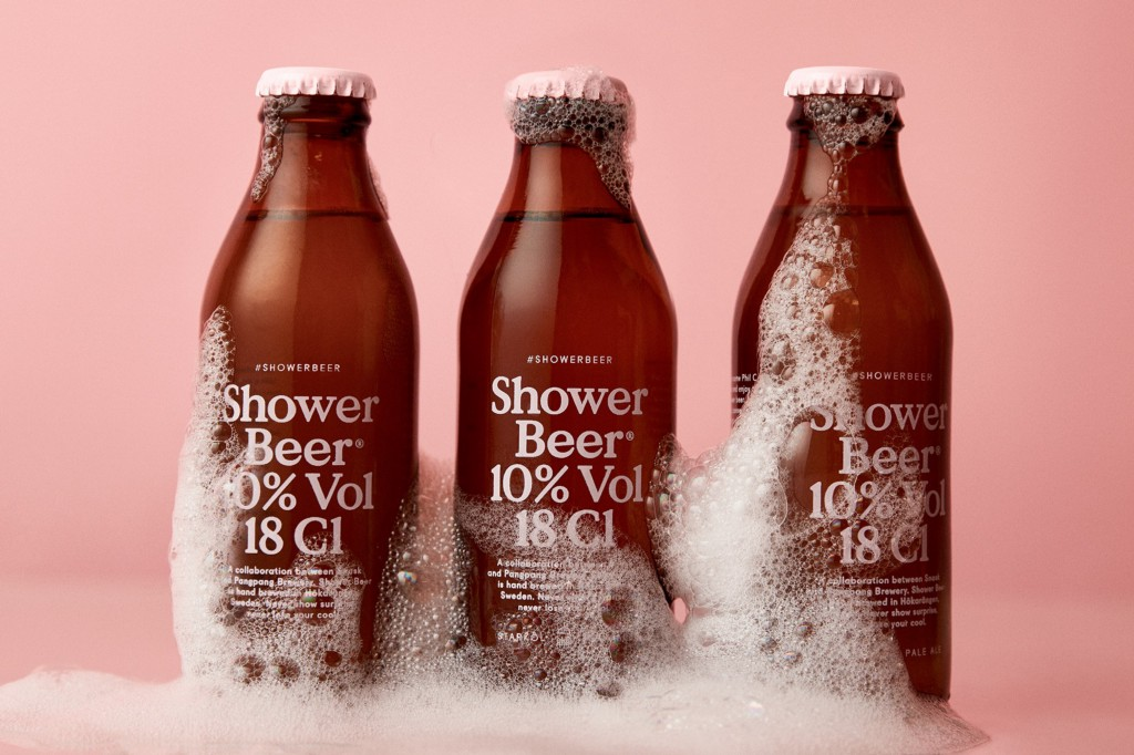 Praise The Brew Gods, Shower Beer Exists