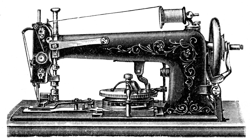 Before There Were Vibrators, There Were Sewing Machines