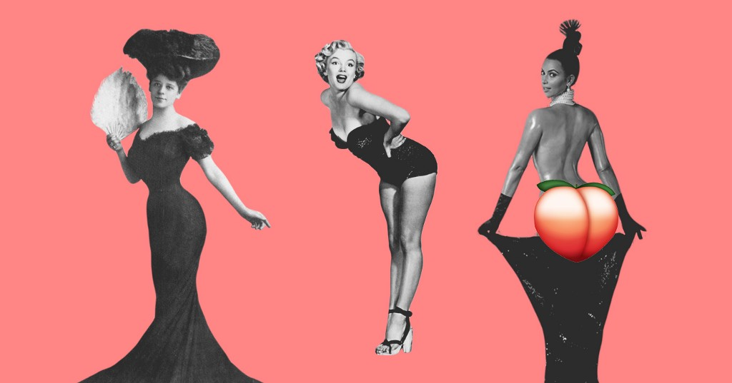 Celebrating A Century Of Beautiful Booty Trends