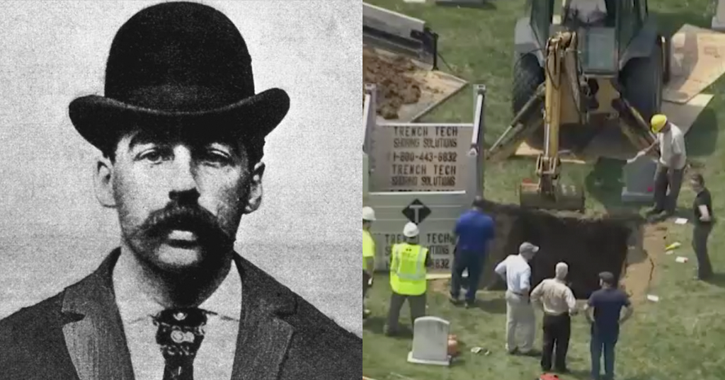 H. H. Holmes' Body Is Being Exhumed