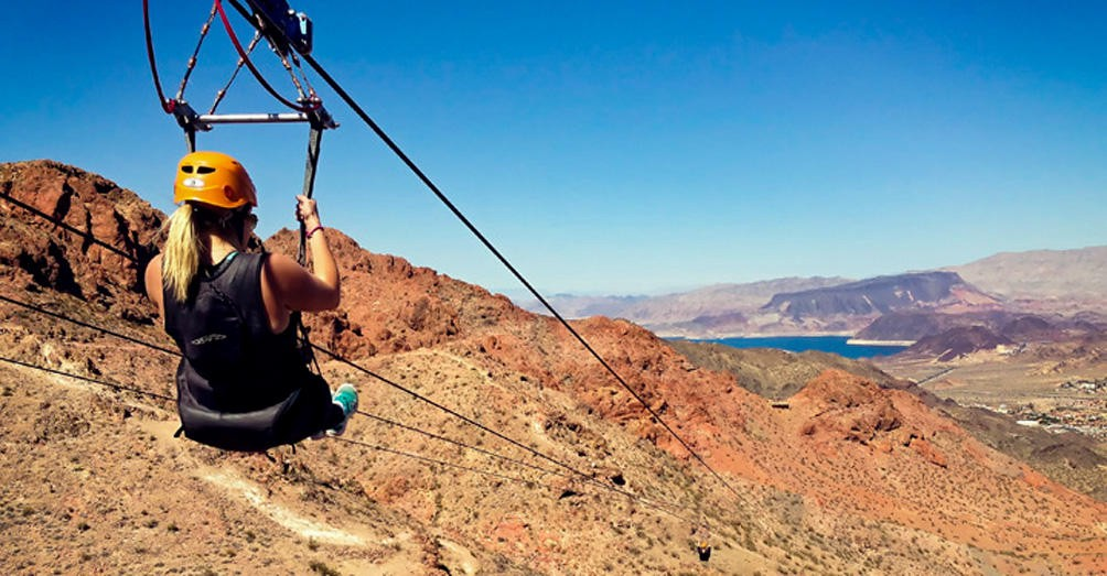 You Can Zip Line Across The Grand Canyon If You're Brave Enough